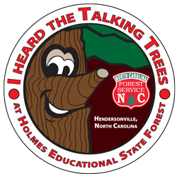 Talking Tree illustrated Tree Trail Sticker