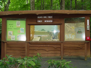 Educational Display Holmes Educational State Forest
